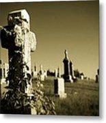 Tombstone Ivy Metal Print