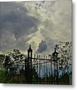 Tombstone Picture Perfect Halloween Image Metal Print