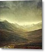 Tombstone Range Seasons Metal Print