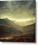 Tombstone Range Seasons Vertical Metal Print