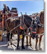 Tombstone Stagecoach 2 Metal Print