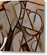 Tommervik Abstract Cubism Elephant Art Print Metal Print