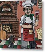 Tommys Italian Kitchen Metal Print