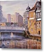 Tonbridge Castle Metal Print