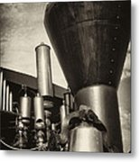 Toned Whistles And Bells Metal Print