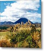 Tongariro National Park New Zealand Metal Print