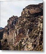 Tongue River Canyon Metal Print