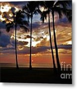 Tonight's Gorgeous Sunset Metal Print