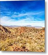 Tonto National Forest Apache Trail Metal Print