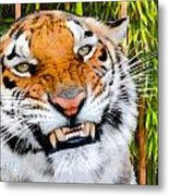 Too Close Metal Print by Lester Phipps