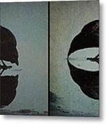 Too Much Self Reflection Can Lead To Narcissism Metal Print