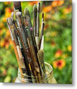 Tools Of The Painter Metal Print