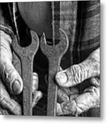 Tools Used All His Life Metal Print