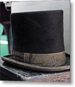 Top Hat Metal Print