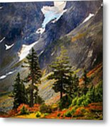 Top Of Cascade Pass Metal Print