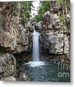 Top Of Cidar Falls Metal Print