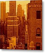 Top Of Manhattan Metal Print