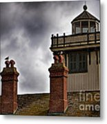 Top Of Point Fermin Lighthouse Metal Print