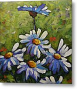 Top Of The Bunch Daisies By Prankearts Metal Print