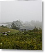 Top Of The Hill Metal Print
