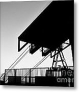 Top Of The World San Marino Cable Car Metal Print