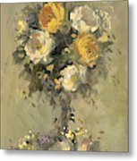 Topiary Bouquet 1 Metal Print