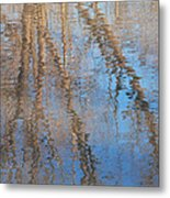 Topside Down Metal Print
