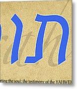 Torah Metal Print