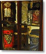 Torah Scrolls Metal Print