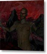 Torment Metal Print by Jean Gugliuzza