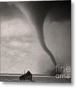 Tornado Metal Print by Gregory Dyer