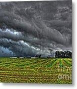 Tornado Over Madison 5 Metal Print