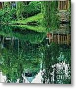 Reflections On Toronto Island Metal Print