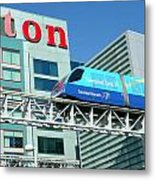 Toronto Airport Shuttle Metal Print