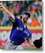Toronto Blue Jays V Houston Astros Metal Print