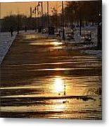 Toronto Boardwalk Metal Print