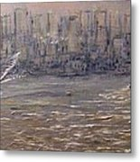 Toronto Harbor Morning Metal Print