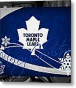 Toronto Maple Leafs Christmas Metal Print