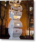 Toronto Sculpture Garden  7d01024 Metal Print