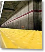 Toronto Subway Station Metal Print