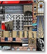 Toronto Textures 1 Metal Print