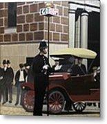 Toronto Traffic Cop 1912 Metal Print