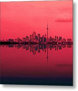 Toronto With A Twist Metal Print