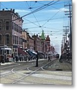 Toronto Yonge And College 1916 Metal Print