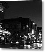 Toronto's China Town After Sunset Metal Print