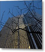 Toronto's Golden Bank - Royal Bank Plaza Downtown Metal Print