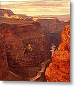 Toroweap Point, Grand Canyon, Arizona Metal Print