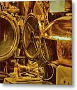 Torpedo Chamber Uss Bowfin Metal Print