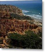 Torrey Pines Coastal View Metal Print