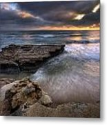 Torrey Pines Flat Rock Metal Print